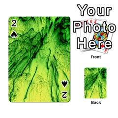 Special Fireworks, Green Playing Cards 54 Designs
