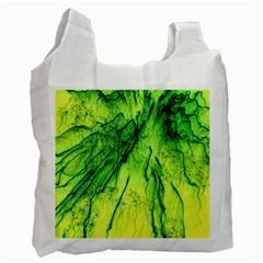 Special Fireworks, Green Recycle Bag (One Side)