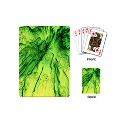 Special Fireworks, Green Playing Cards (Mini)