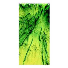 Special Fireworks, Green Shower Curtain 36  X 72  (stall)