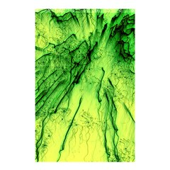Special Fireworks, Green Shower Curtain 48  X 72  (small)