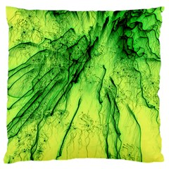 Special Fireworks, Green Large Cushion Cases (Two Sides)