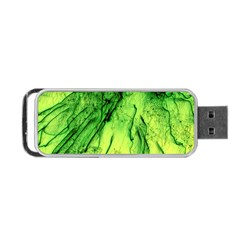 Special Fireworks, Green Portable USB Flash (One Side)