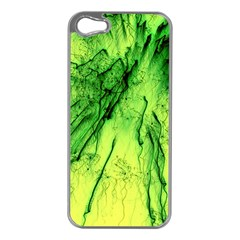 Special Fireworks, Green Apple iPhone 5 Case (Silver)