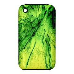 Special Fireworks, Green Apple iPhone 3G/3GS Hardshell Case (PC+Silicone)