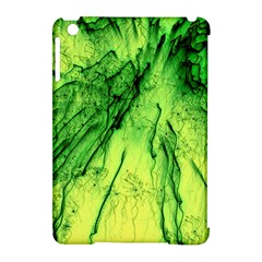 Special Fireworks, Green Apple iPad Mini Hardshell Case (Compatible with Smart Cover)