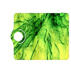 Special Fireworks, Green Kindle Fire HDX 8.9  Flip 360 Case