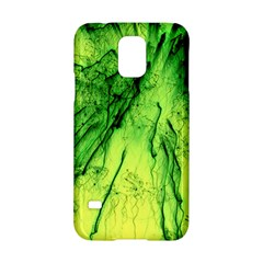 Special Fireworks, Green Samsung Galaxy S5 Hardshell Case