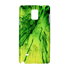 Special Fireworks, Green Samsung Galaxy Note 4 Hardshell Case
