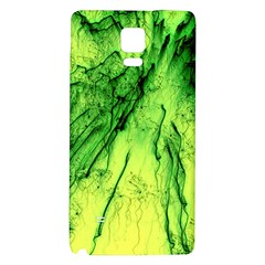 Special Fireworks, Green Galaxy Note 4 Back Case