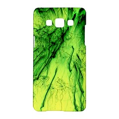 Special Fireworks, Green Samsung Galaxy A5 Hardshell Case