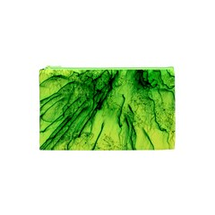 Special Fireworks, Green Cosmetic Bag (xs)