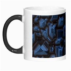 Metalart 23 Blue Morph Mugs
