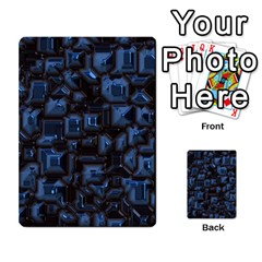 Metalart 23 Blue Multi-purpose Cards (Rectangle)