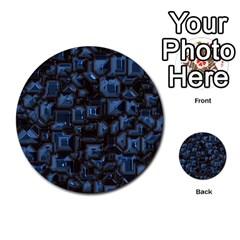 Metalart 23 Blue Multi Purpose Cards (round)