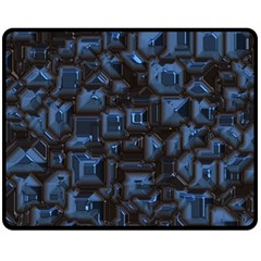 Metalart 23 Blue Fleece Blanket (Medium)