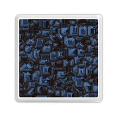 Metalart 23 Blue Memory Card Reader (Square)
