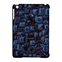 Metalart 23 Blue Apple iPad Mini Hardshell Case (Compatible with Smart Cover)
