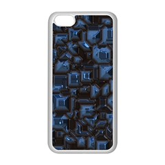 Metalart 23 Blue Apple Iphone 5c Seamless Case (white)