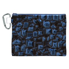 Metalart 23 Blue Canvas Cosmetic Bag (XXL)