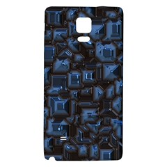 Metalart 23 Blue Galaxy Note 4 Back Case