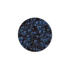 Metalart 23 Blue Golf Ball Marker (4 pack)