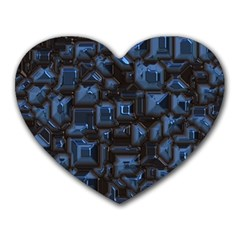 Metalart 23 Blue Heart Mousepads