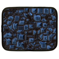 Metalart 23 Blue Netbook Case (XXL)