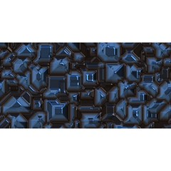 Metalart 23 Blue You Are Invited 3d Greeting Card (8x4)