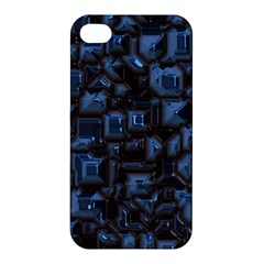 Metalart 23 Blue Apple iPhone 4/4S Premium Hardshell Case