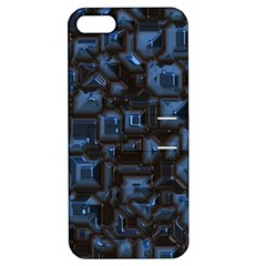 Metalart 23 Blue Apple iPhone 5 Hardshell Case with Stand