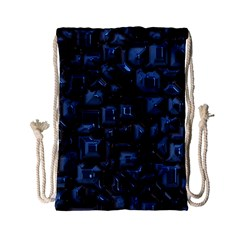 Metalart 23 Blue Drawstring Bag (small)