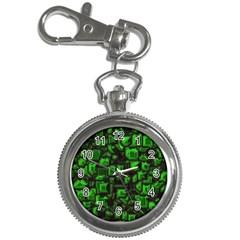 Metalart 23 Green Key Chain Watches
