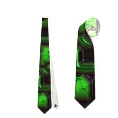 Metalart 23 Green Neckties (two Side)