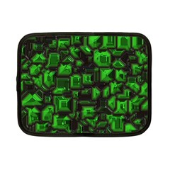 Metalart 23 Green Netbook Case (Small)