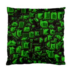 Metalart 23 Green Standard Cushion Case (One Side)