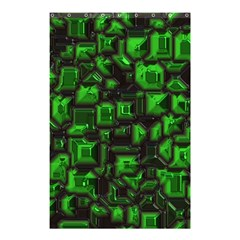 Metalart 23 Green Shower Curtain 48  x 72  (Small)