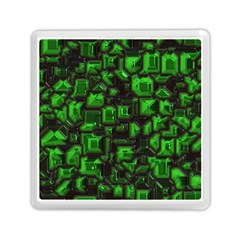 Metalart 23 Green Memory Card Reader (Square)