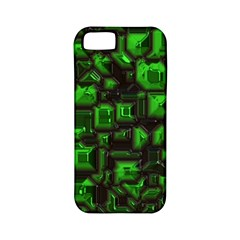 Metalart 23 Green Apple iPhone 5 Classic Hardshell Case (PC+Silicone)