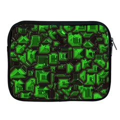 Metalart 23 Green Apple iPad 2/3/4 Zipper Cases