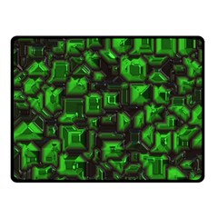 Metalart 23 Green Double Sided Fleece Blanket (Small)