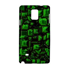 Metalart 23 Green Samsung Galaxy Note 4 Hardshell Case