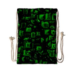 Metalart 23 Green Drawstring Bag (Small)