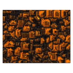 Metalart 23 Orange Rectangular Jigsaw Puzzl