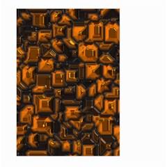 Metalart 23 Orange Large Garden Flag (Two Sides)