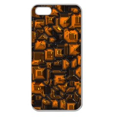 Metalart 23 Orange Apple Seamless iPhone 5 Case (Clear)