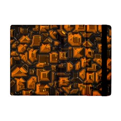 Metalart 23 Orange Apple iPad Mini Flip Case