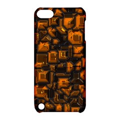 Metalart 23 Orange Apple iPod Touch 5 Hardshell Case with Stand