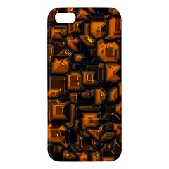 Metalart 23 Orange Apple Iphone 5 Premium Hardshell Case