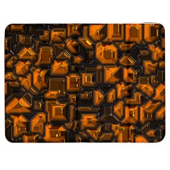 Metalart 23 Orange Samsung Galaxy Tab 7  P1000 Flip Case